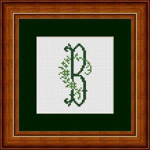 "Buchstabe B ""Arles"""
