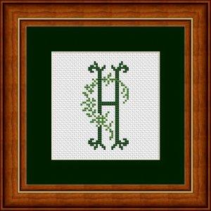 "Letter H ""Arles"""