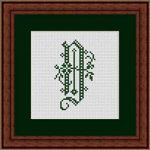 """Letter D """"Beauvais"""""""