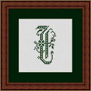 """Letter T """"Beauvais"""""""