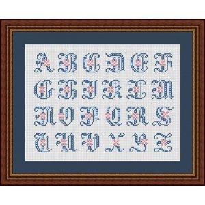 """Set 24 Letters """"Fontainebleau"""""""