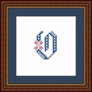 "Letter O ""Fontainebleau"""
