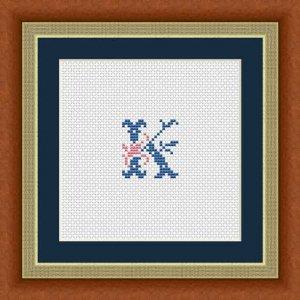 """Letter K """"Issoire"""""""
