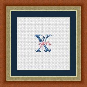 """Letter X """"Issoire"""""""