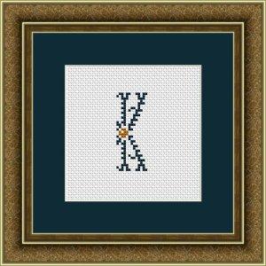 "Letter K ""Kervignac"""