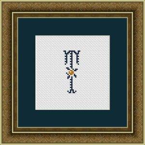 """Letter T """"Kervignac"""""""