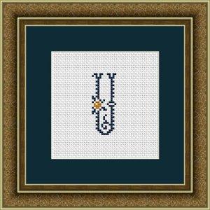 "Letter U ""Kervignac"""