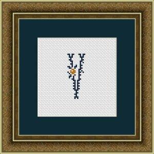 """Letter V """"Kervignac"""""""