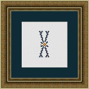 """Letter X """"Kervignac"""""""