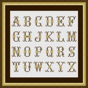 """Set 24 Letters """"Limoges"""""""