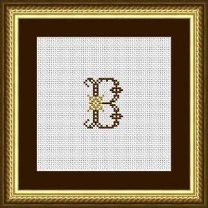 """Letter B """"Limoges"""""""