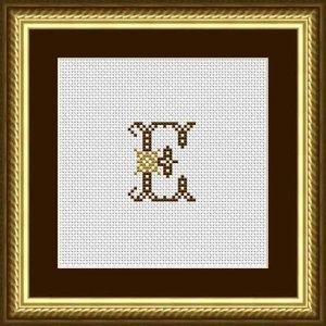"Letter E ""Limoges"""