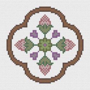 Folklore Floral Motif