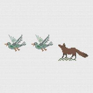 Fuchs und Enten