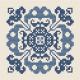 Symmetrical Floral Motif
