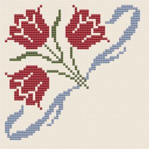 Tulpen-Eckmotiv