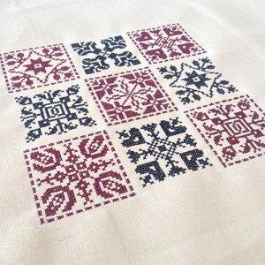Set 6 traditionelle gerahmte Quadrate