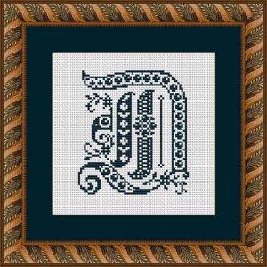 """Letter D """"Évreux"""""""