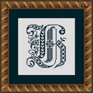 "Letter H ""Évreux"""