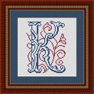 """Letter K """"Fréjus"""""""