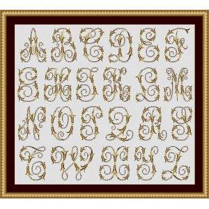"Set 23 Letters ""Grenoble"""