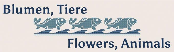Blumen, Tiere etc